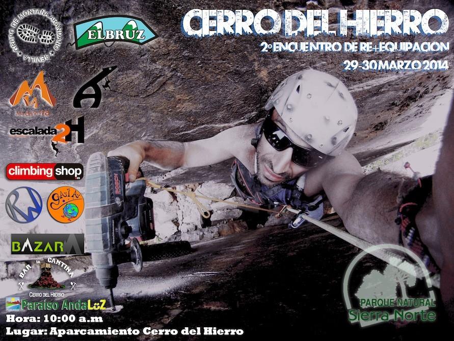Cerro del Hierro (Sevilla): segundo encuentro de re+equipamiento