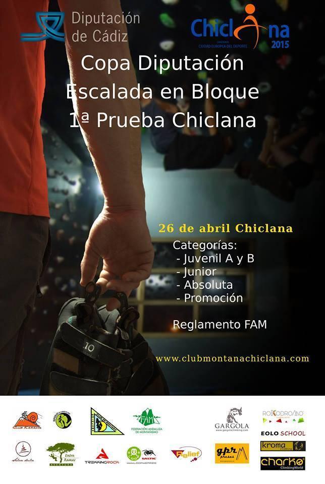 Copa Diputación Escalada en Bloque 1ª Prueba