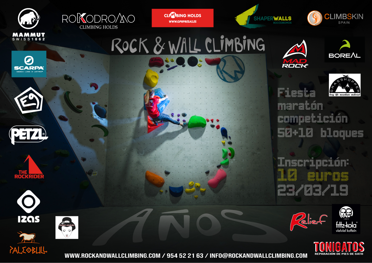 V aniversario Rock & Wall